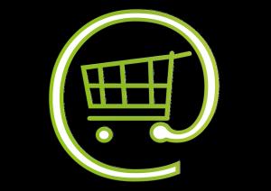 shoping cart @ symbol